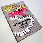 Salamaponin selässä -kymmenvuotisjuhlakirja(nidottu, pehmeäkantinen, 224 sivua)